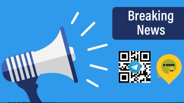 breaking news cover and qr code
